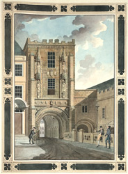View of the Gateway from the College Green Bristol